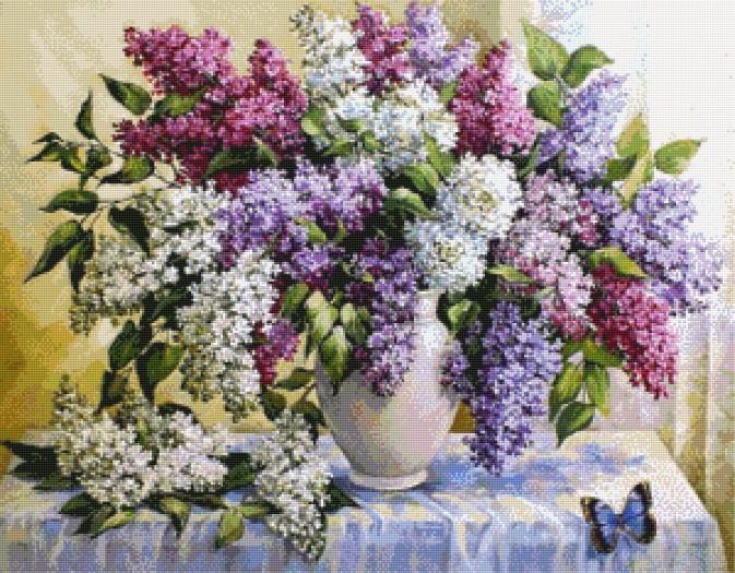 Aktualne Kwiaty Flowers :: Crossland, haft krzyżykowy CZ32